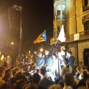 Jordis Sanchez Cuixart escenari dissolució manifestació 20-S