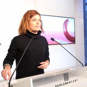 Elisenda Alamany Parlament investidura - ACN