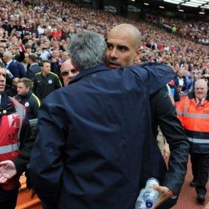 Guardiola Mourinho EFE