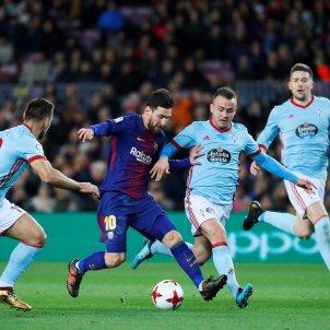 Leo Messi Barça Celta Copa   EFE