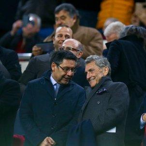 Josep Maria Bartomeu llotja Camp Nou Barça Celta Copa   EFE