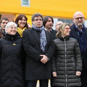Reunió JuntsXCat Puigdemont Brussel·les - ACN