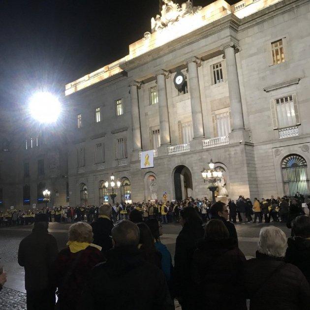 Plaça St. Jaume Presos Polítics @berlustinho