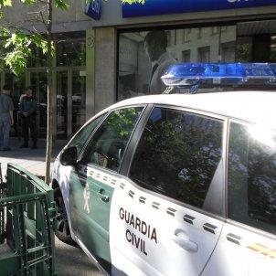 Cotxe Guàrdia civil ACN