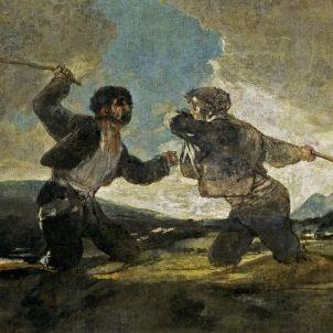 Francisco de Goya y Lucientes   Duelo a garrotazos