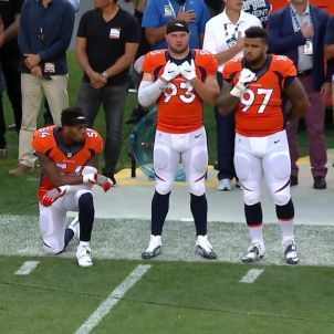 Protesta de genolls himne americà NFL