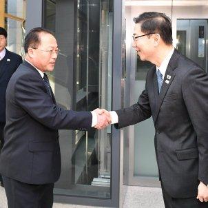 reunió coreas jjoo Efe