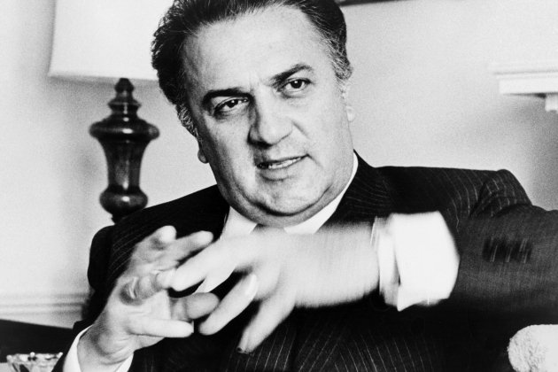 Federico Fellini Walter Albertin, World Telegram staff photographer - Library of Congress. New York World-Telegram & Sun Collection.
