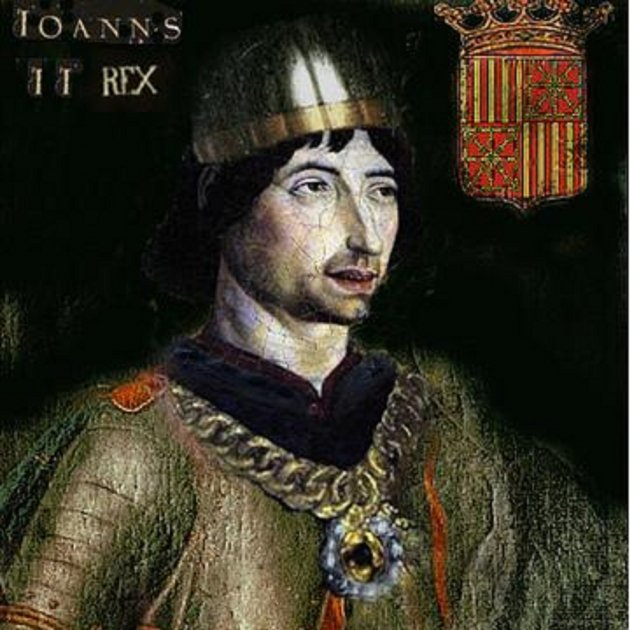 Resultat d'imatges de el rei joan II catalunya