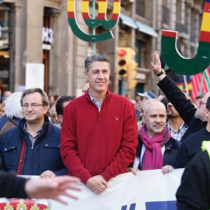 Albiol manifestació policia espanyola Sergi Alcàzar