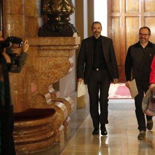 Mesa Parlament Eusebi Campdepadrós Josep Costa Alba vergés - Sergi Alcàzar