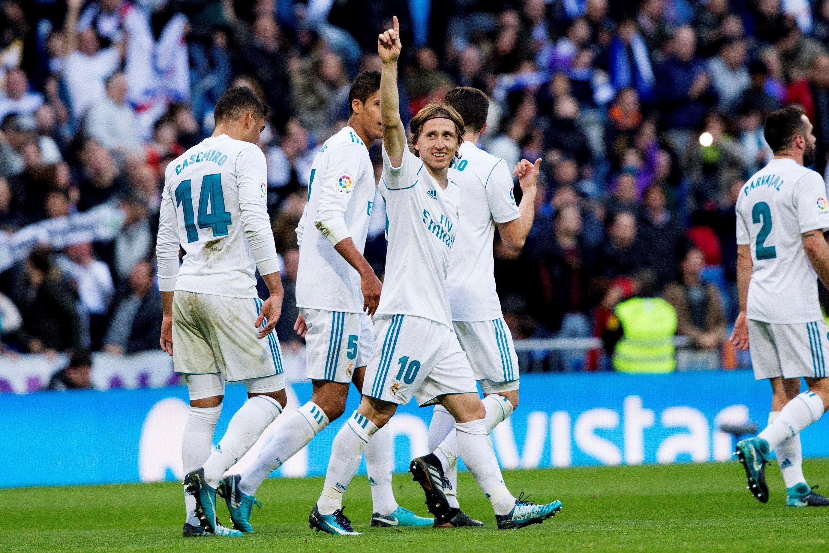 Bernabeu Modric Madrid Deportivo EFE