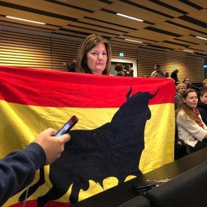 bandera espanya toro copenhaguen puigdemont   lasalas