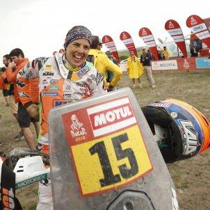 Laia Sanz Dakar 2018 Efe