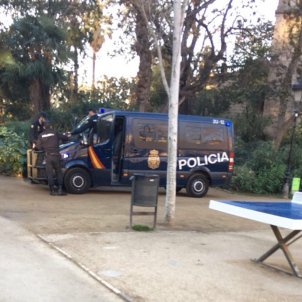 policia espanyola CNP al Parlament - Nico
