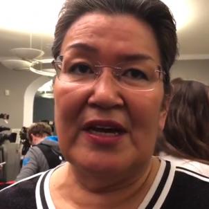 aleqa hammond exprimera ministra groenlandia   lasalas video