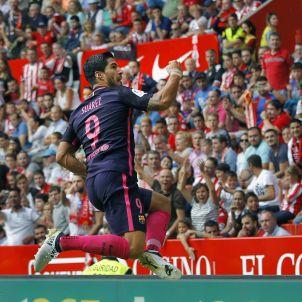 Luis Suárez Gol Sporting Gijón Barça Efe