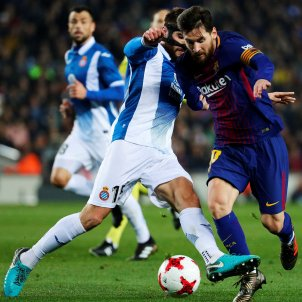 Leo Messi Copa Barça Espanyol   EFE