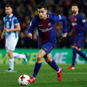 Philppe Coutinho debut Barça Espanyol   EFE