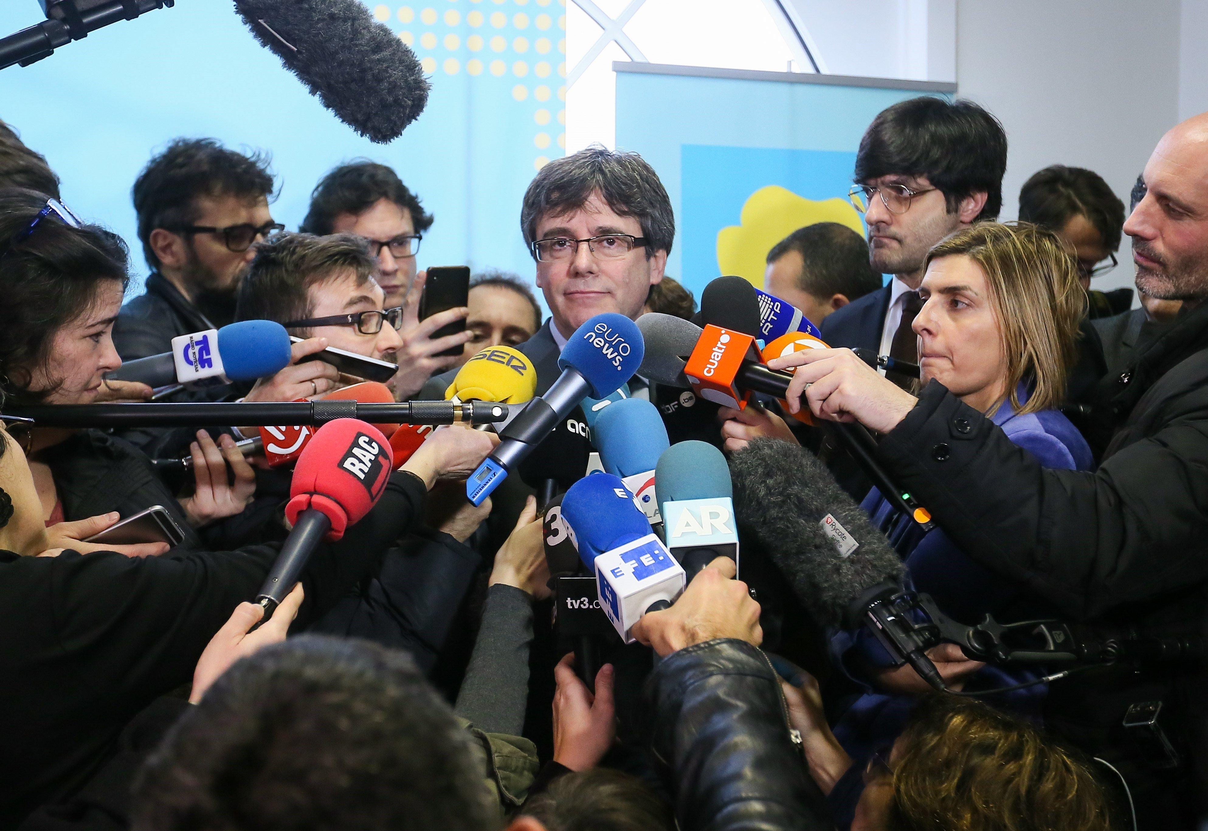 Resultado de imagen de Ressò internacional del segon veto del TC a la investidura de Puigdemont El Nacional