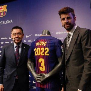 Gerard Piqué Josep Maria Bartomeu Barça Sergi Alcàzar