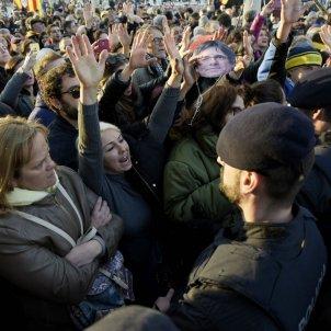 Manifestació investidura Parlament 30 gener / Laura Gómez
