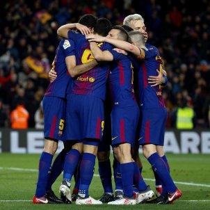 Barça Valencia pinya EFE