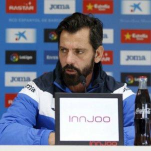 Quique Sanchez Flores previa Espanyol Barça RCDE