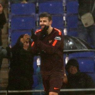 Espanyol Barça Gol Pique Celebracio 2 Efe