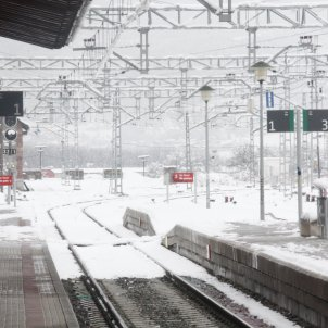 Estació Puigcerdà neu / ACN