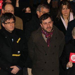Puigdemont Comín Ponsatí Lovaina 100 dies exili - ACN