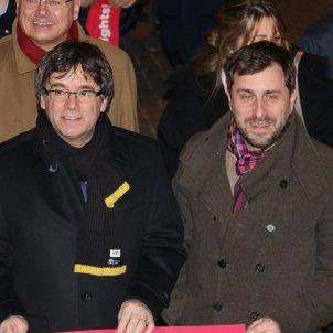 Puigdemont Comín 100 dies exili Lovaina - ACN