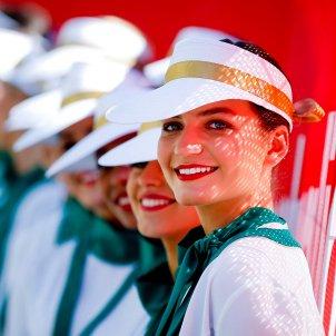 Hostesses Fórmula 1 Efe