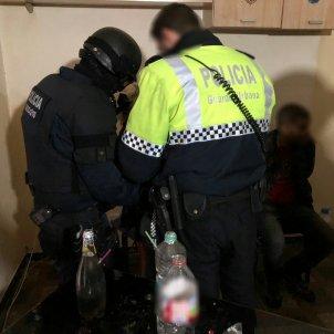 mossos guàrdia Urbana Narcopis Raval