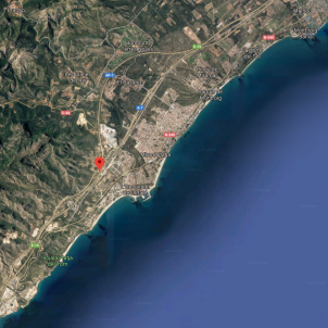 AP7 vandellós google maps