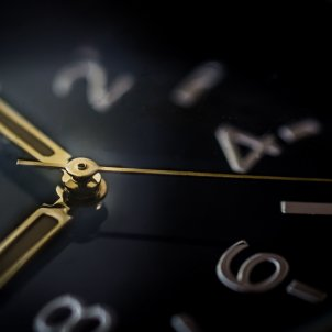 Rellotge agulles temps hora