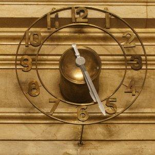 Rellotge Parlament Hemicicle temps hora - Sergi Alcàzar
