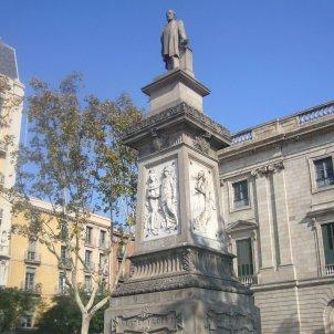 estatua Antonio López y López Jordi Ferrer