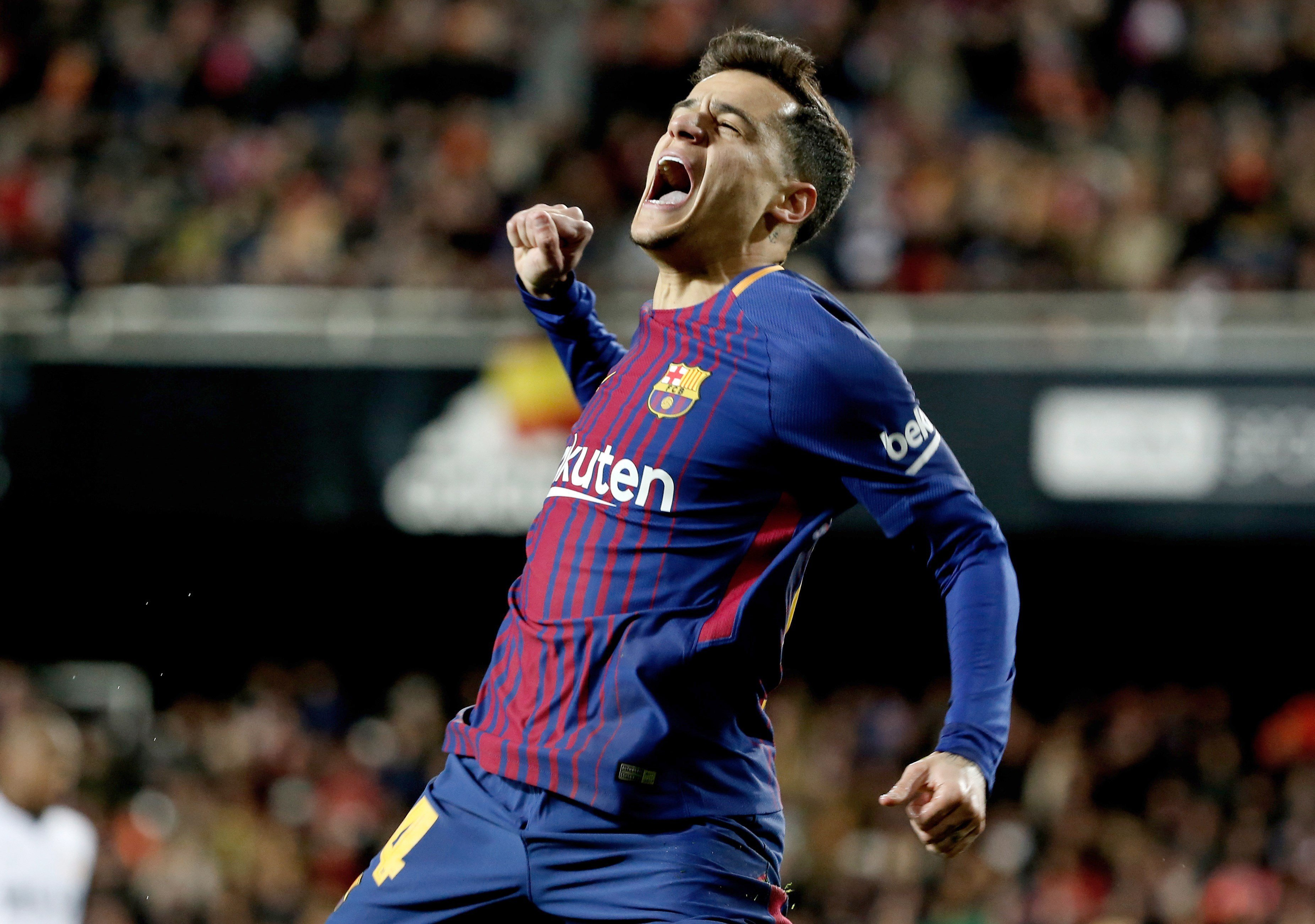 Coutinho Barça Valencia Mestalla gol EFE