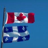 canada quebec banderes