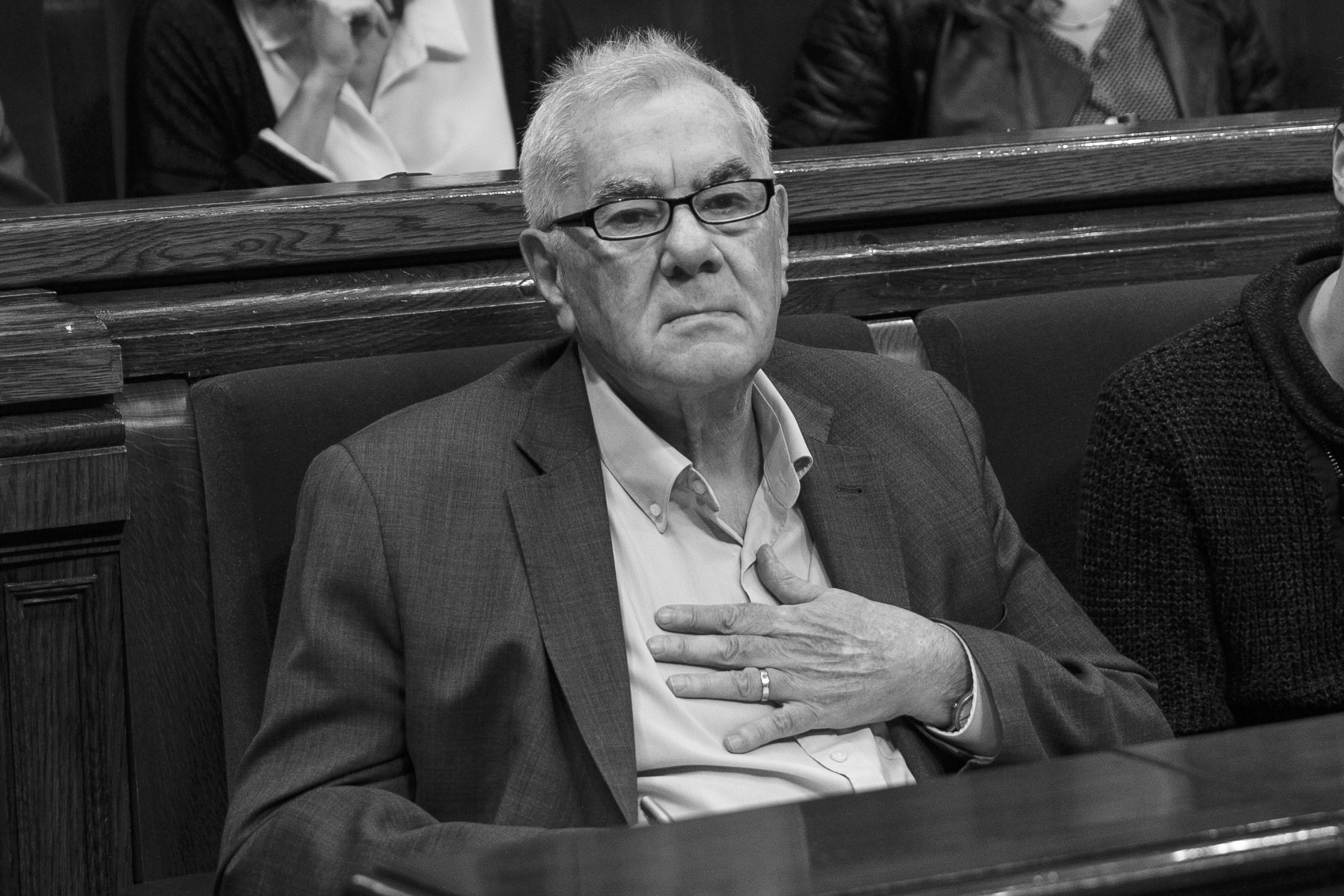 Ernest Maragall Parlament - Sergi Alcàzar