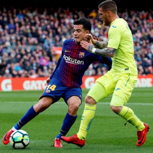 Coutinho Antunes Barça Getafe Efe