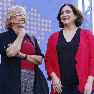 Ada Colau i Manuela Carmena ACN