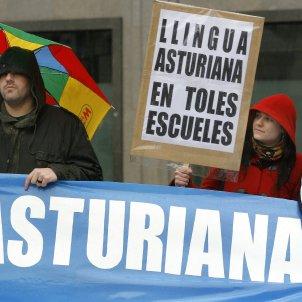 reivindicacio llengua asturiana efe