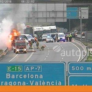 Camió incendiat ap7 europa press