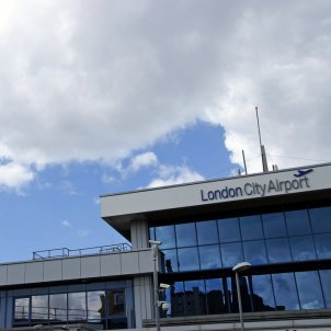 london city airport   flickr