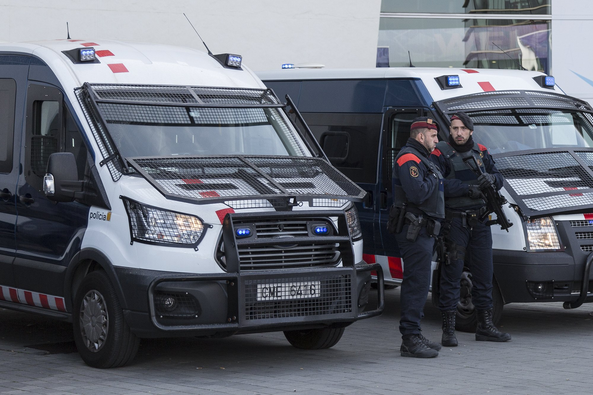 mossos sergi alcazar