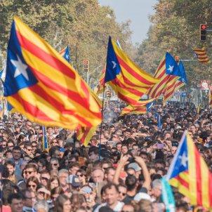 Manifestació ANC i Òmnium ciutadella suport govern i proclamació de la república DUI laura gómez (1)