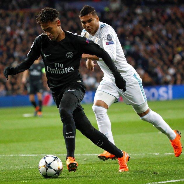 Neymar Madrid PSG Champions   EFE