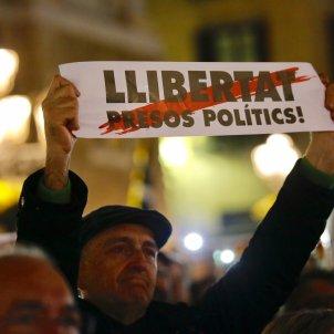 pancarta presos polítics 4 mesos jordis Alcàzar
